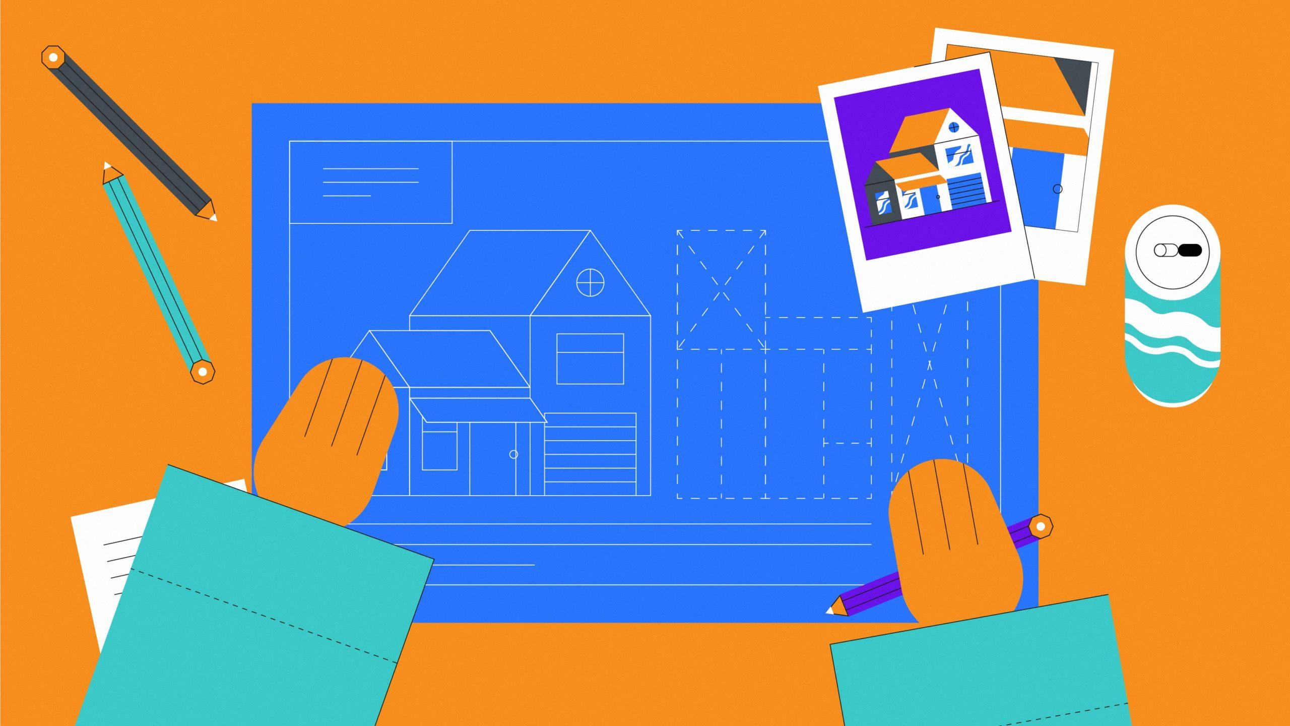 Создание видеоролика как проектирование дома